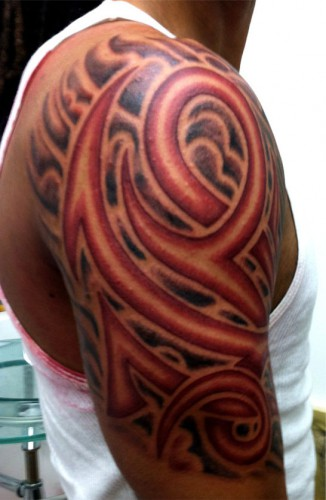 Red Tribal 2